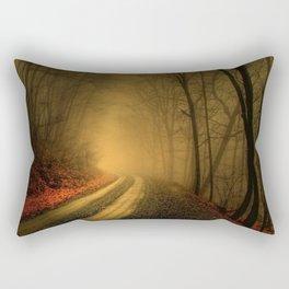 The Road to Saddle Mountian Rectangular Pillow