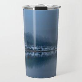 Reflections on a Lake - Landscape Photography Travel Mug