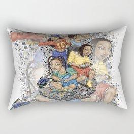Growing Up Nintendo Rectangular Pillow