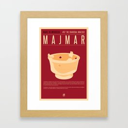 MADE IN MOROCCO #07-CHARCOAL BRAZIER Framed Art Print