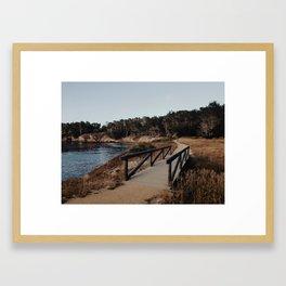 Point Lobos Carmel CA Framed Art Print
