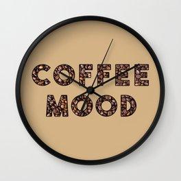 Coffee Mood Wall Clock
