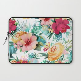 Bright and Bold Flowers Laptop Sleeve
