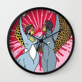 Cirque dual Wall Clock