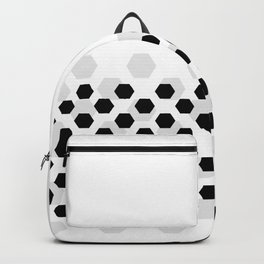 Backgroun of soocer,  football. Traditional sport texture of ball. Backpack