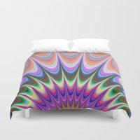 sunrise Duvet Covers featuring Sunrise by David Zydd