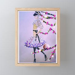 Floral Explosion Framed Mini Art Print