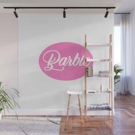 Barbie Pink Wall Mural