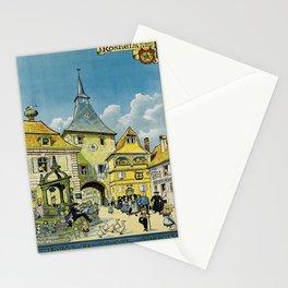Affiche rosheim au mont ste. odile. 1930  Stationery Cards