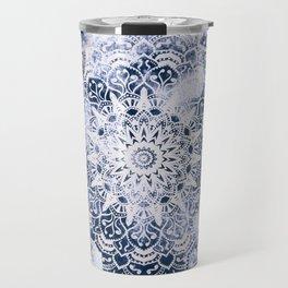 MANDALA WONDERLAND IN BLUE Travel Mug