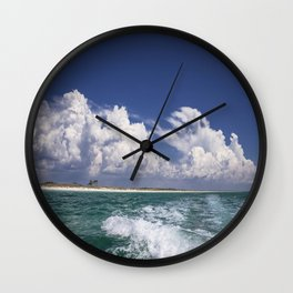 Emerald Coast  Wall Clock