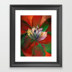 Fantasy Flower 2 Framed Art Print