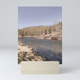 Colorado River with Trees Mini Art Print