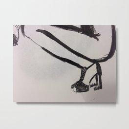 heels Metal Print