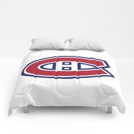 Montreal Canadien Logo Comforters