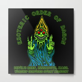 Esoteric Order of Dagon  Metal Print