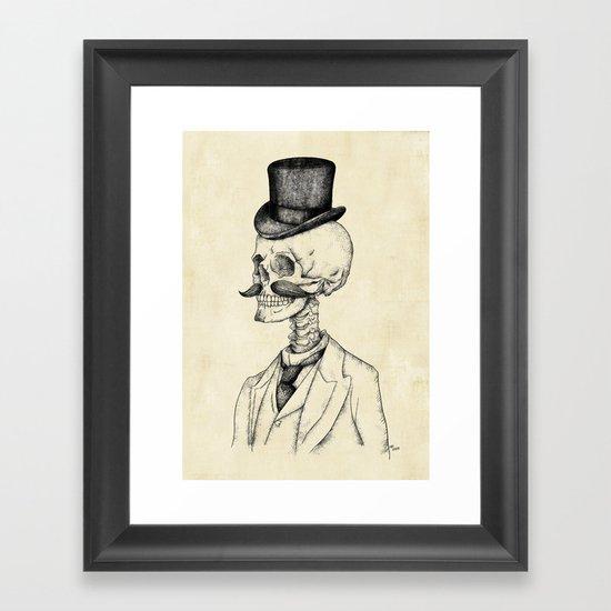 Old Gentleman  Framed Art Print