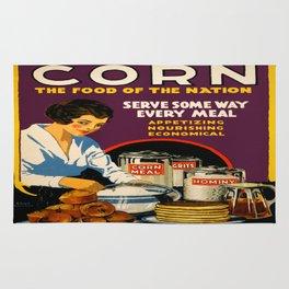 Vintage poster - Corn Rug