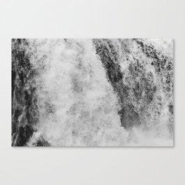 Secret waterfall Canvas Print