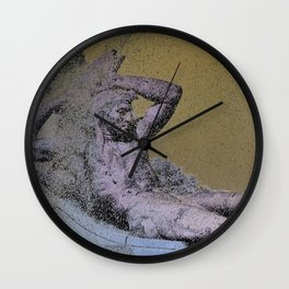 The Sublime Of Folly Wall Clock