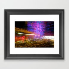 Night Light 125 Framed Art Print