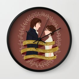 You have bewitched me Wall Clock