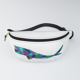Whale and Blue Fanny Pack