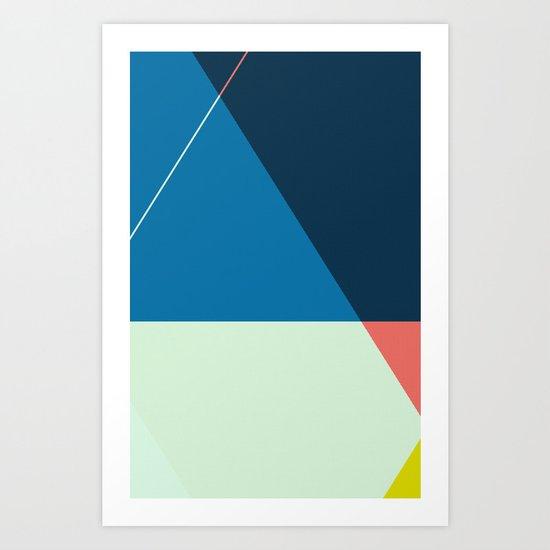 ‡ T : T ‡ Art Print