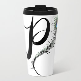 Monogram P Travel Mug