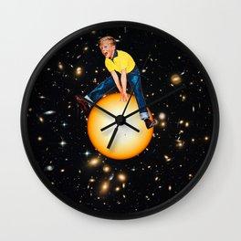Star Hopper 2 Wall Clock