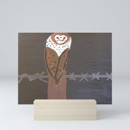 The Owl Mini Art Print