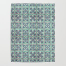 Butterfly Semi-Plaid Poster