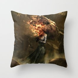 Can not prevent it, but there is no need to prevent it Throw Pillow