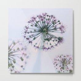 Floral Sky Metal Print