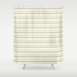 Benjamin Moore 2019 Color of the Year 2019 Metropolitan Light Gray on Lemon Chiffon Pale Pastel Yell Shower Curtain