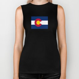 flag colorado,america,usa,south,desert, The Centennial State,Coloradan,Coloradoan,Denver,Springs Biker Tank
