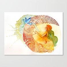 I love you free Canvas Print