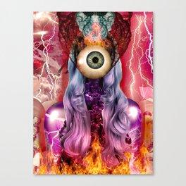 Atomic Canvas Print