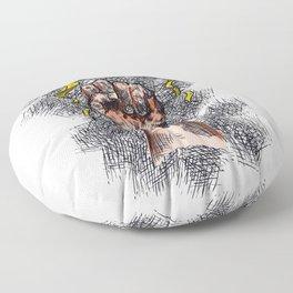 A Man Chooses Floor Pillow