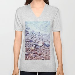 Colorful Stones by the Baltic Sea Unisex V-Neck