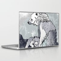 nordic Laptop & iPad Skins featuring Nordic Bears by Pencil Studio