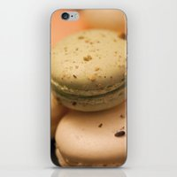 macaron iPhone & iPod Skins featuring MACARON  by Ylenia Pizzetti