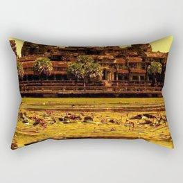 Ankor Wat Rectangular Pillow