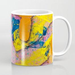Yellow Slides / Negative Z by Larry Hefner Coffee Mug