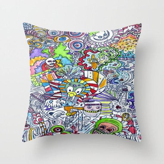 FUNHOUSE Throw Pillow