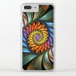 Harmonium Clear iPhone Case