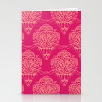 damask Stationery Cards featuring Damask by cactus studio