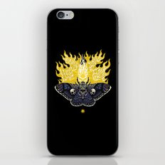 Moths to a Flame iPhone & iPod Skin