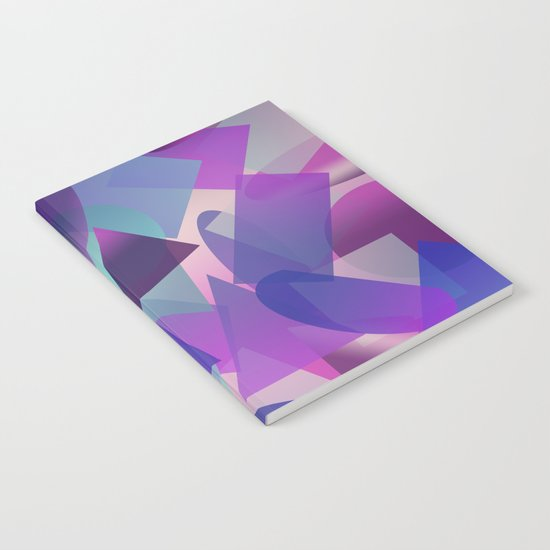 Abstract cube II Notebook