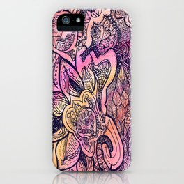 Seaflower iPhone Case